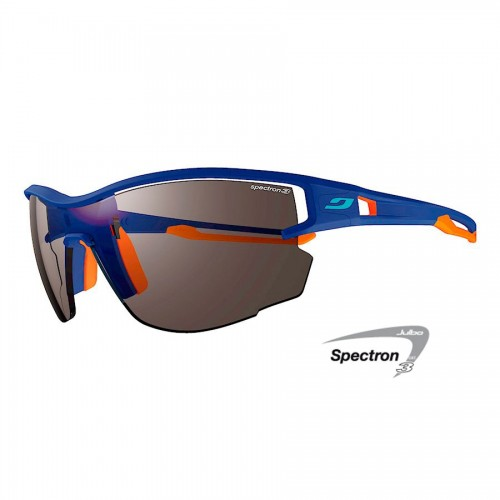 Julbo AERO Glasses blue/orange with Spectron 3 lenses