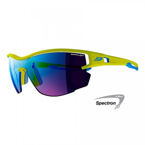 Julbo AERO Glasses green/blue with Spectron 3CF lenses